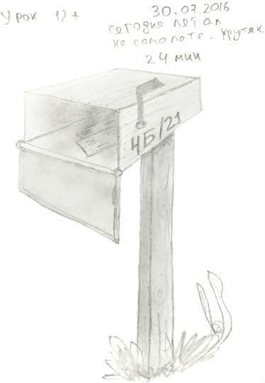 Как научиться рисовать карандашом урок 12_. Почтовый ящик