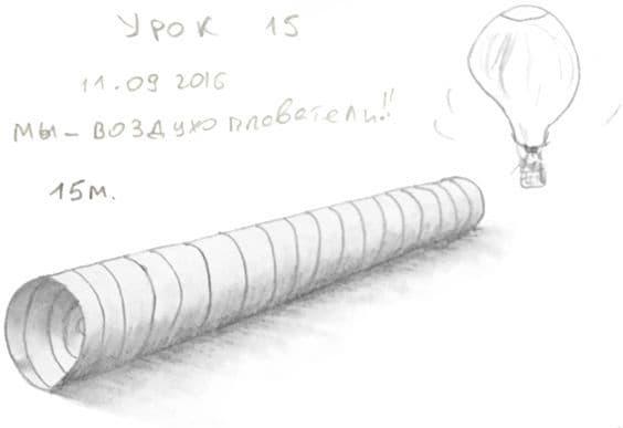 Как научиться рисовать карандашом урок 15. Полая труба