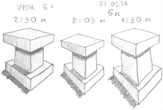 Как научиться рисовать карандашом урок 6_. Быстрый набросок