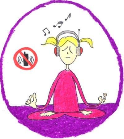 Создайте уютное место. Медитация в коконе с музыкой. Без телефона.